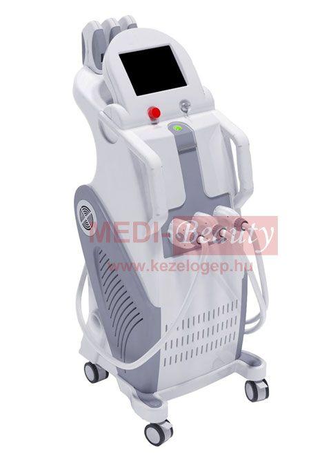 Medi Lux IPL-RF szőrtelenítő gép 3 kezelőfejjel - Kezelőgép - Medi ... bfea1c42c1
