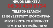 HÍVJON MINKET A 06 30 439 0754 SZÁMON