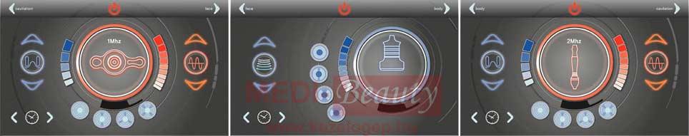 Eunsung 3Max kezelőgép képernyőkép